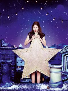 Will you be the star on our Christmas tree? #makebelieve