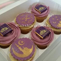 Eid Cupcakes - Ramadan cakes stencils available at Stenciland shop on Etsy                                                                                                                                                                                 More