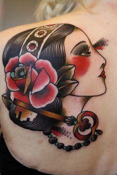 Old school tattoo www.tattoodefender.com #Oldschool #tattoo #tatuaggio #tattooart #tattooartist #tatuaggi #tattooidea #ink #inked #tattoodefender