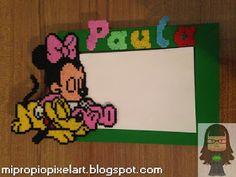 Marco de Fotos Minnie y Pluto
