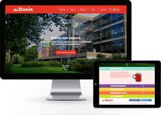 De Basis website #madebyfizz #website