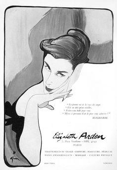 Elisabeth Arden 1952- Gruau
