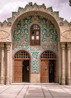 Library of Kerman, Iran Iran Traveling Center http://irantravelingcenter.com #iran #travel #traveltoiran