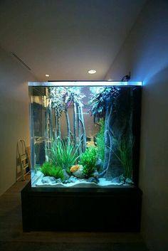 Superior Aquarium Design, Aquarium Ideas, Home Aquarium, Saltwater Tank, Saltwater  Aquarium,