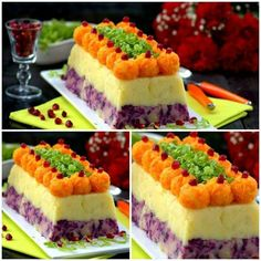 Patates salatası – Kahvaltılıklar – The Most Practical and Easy Recipes Salad Cake, Food Garnishes, Yummy Food, Tasty, Food Decoration, Arabic Food, Turkish Recipes, Frozen Yogurt, International Recipes