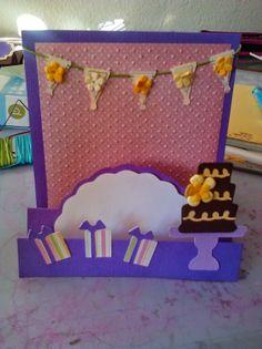 cricut sweet treats card purple Cards By Whitney