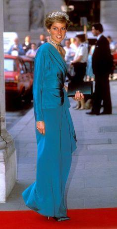 Princess of Wales circa 1988: