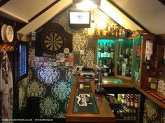 Pub/Entertainment from Garden owned by Peter Roberts | #shedoftheyear