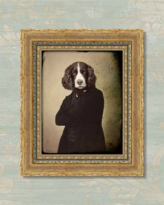 """""""Handsome Mr. Rochester"""" by Muriel McDonald of Watchful Crow Arts on Etsy"""