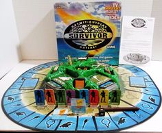 Survivor Board Game - Outwit Outplay Outlast - Mattel 2000 - 4 to 8 Players #Mattel ..... Visit all of our online locations ..... (www.stores.eBay.com/variety-on-a-budget) ..... (www.amazon.com/shops/Variety-on-a-Budget) ..... (www.etsy.com/shop/VarietyonaBudget) ..... (www.bonanza.com/booths/VarietyonaBudget ) .....(www.facebook.com/VarietyonaBudgetOnlineShopping)