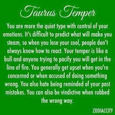 I am a Gemini on the tail end of a Taurus. This totally describes my temper Taurus Quotes, Zodiac Signs Taurus, Taurus Facts, My Zodiac Sign, Zodiac Facts, Taurus Horoscope, Taurus Taurus, Astrological Sign, Taurus Love