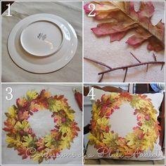 Diy Pottery Barn Inspired Fall Wreath Pillow Fall