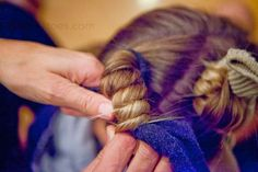 """71 Toes: Friday Q & A -- hair and how we do it including """"sock curls"""""""