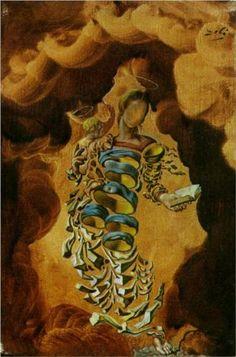 Salvador Dali (1904 - 1989) | Surrealism | Madonna in Particles - 1952