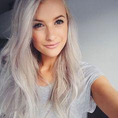 White grey hair refresh