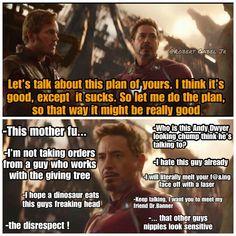 Star Lord & Stark