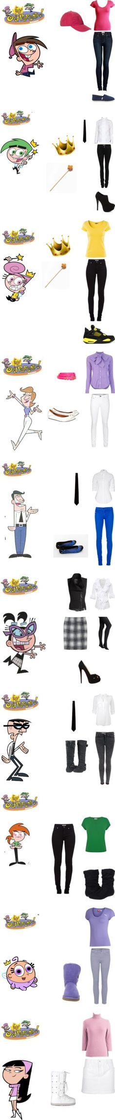 """The Fairly Oddparents"" by briefcase on Polyvore"