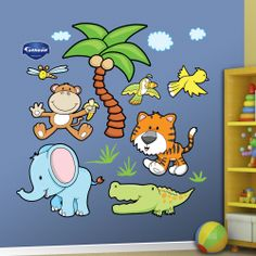 Jungle Animals Group Two
