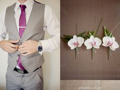 wedding colors and groom attire