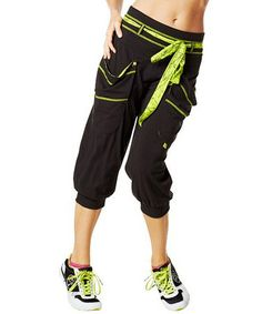 Look what I found on #zulily! Sew Black Do It For The Fame Capri Pants #zulilyfinds