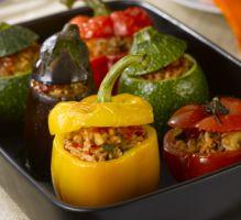 Recette - Légumes farcis à la viande - Proposée par 750 grammes