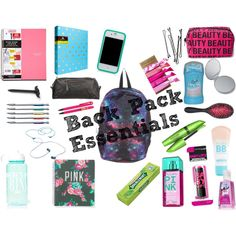 Online shopping for Girls' Back-to-School Essentials from a great selection at Clothing, Shoes & Jewelry Store. School Emergency Kit, School Survival Kits, School Kit, Survival Gear, School Bags, Middle School Supplies, Back To School Supplies, College Supplies, School Outfits Highschool