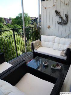 dynor,utemöbler,balkong