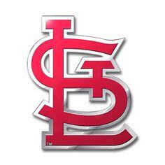 St. Louis Cardinals Auto Emblem - Color