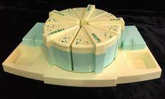 Vintage Nursery/Baby Jar Set - Clarolyte Co NY - Lazy Susie - Swabs, Lotion, etc  | eBay