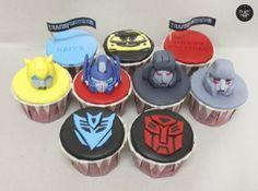 transformers cupcakes - Buscar con Google