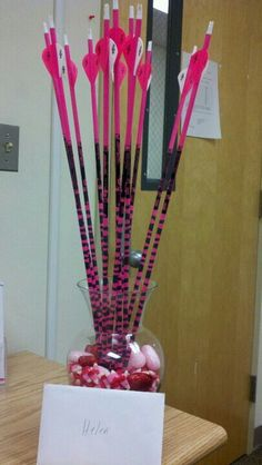 Why would a women need a dozen roses when she could have a dozen arrows instead!