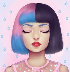 Melanie Martinez Fanart by xRaininx