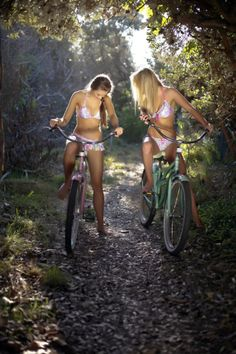 bikinis + bikes