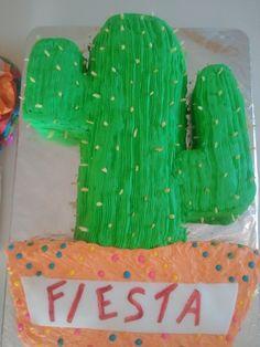 Cactus cake!!
