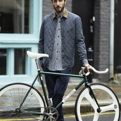 H&M has teamed up with London's cool fixie dealers Brick Lane Bikes to design a limited edition men's cycling collection. Made entirely from sustainable materials, the collection includes water-repellant jackets, sporty blazers and vintage-inspired jerseys designed to be worn on and off the bike. Besides the clothing, they produced a fixed gear bike for this collaboration.