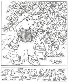 Art Activities For Kids, Puzzles For Kids, Kindergarten Activities, Hidden Pictures Printables, Studying Funny, Hidden Picture Puzzles, Hidden Objects, Find Objects, Planner Doodles