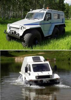 Russian Police Monster Truck