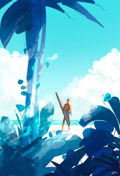 Surfer ~ by Pascal Campion on  deviantART