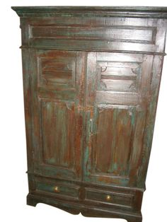 Antique Cabinets & Cupboards for sale Indian Furniture, Home Decor Furniture, Furniture Projects, Antique Furniture, Furniture Decor, Antique Armoire, Antique Cabinets, Wooden Cabinets, Diy Cabinets