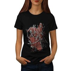 Samurai Epic Battle Crazy Fight Women NEW L Tshirt  Wellcoda ** For more information, visit image link.