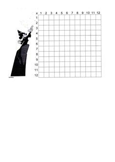 matematika szorzórács