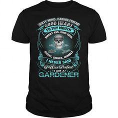 I Am A GARDENER T Shirts, Hoodies. Get it here ==► https://www.sunfrog.com/Jobs/I-Am-A-GARDENER-Black-Guys.html?57074 $22.99