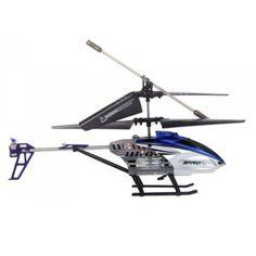 """7.5"""" Mini 3.5 CH Channel Ultralight Infrared RC Helicopter With Gyro Colorful Light Kids Toy Gift"""