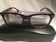 e941378713a New RAY-BAN Eyeglasses RB 5228 2005 53-17 Classic Tortoise w  Demo