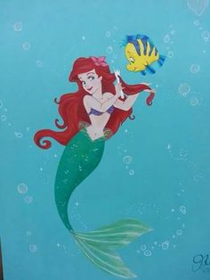 Ariel brushing her hair with a fork (dinglehopper) with her friend Flounder in under the sea Disney Songs, Disney Art, Ariel Disney, Walt Disney, Disney Dream, Disney Love, Disney Stuff, Ariel Mermaid, Ariel The Little Mermaid