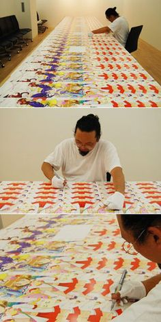 takashi murakami studio - Google Search