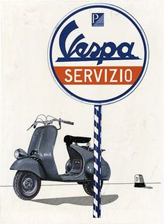 Anonymous Artists, Vespa- Servizio