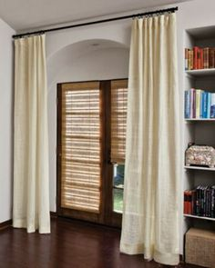 Seagrass blinds 4ft bamboo and seagrass roman blind with for Smith and noble bamboo shades