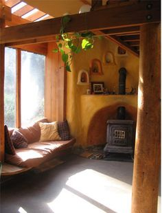 Beautiful space - love the box seat in the sunny window