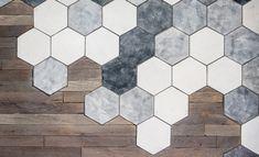 Afbeeldingsresultaat voor hexagon tegels vloer